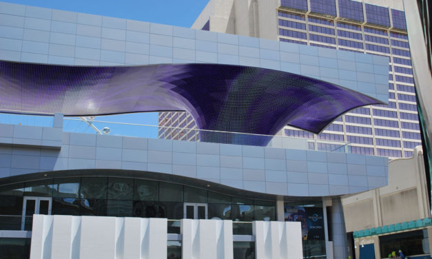 Las Vegas Vortex Canopy Creates Striking Structure on the Strip
