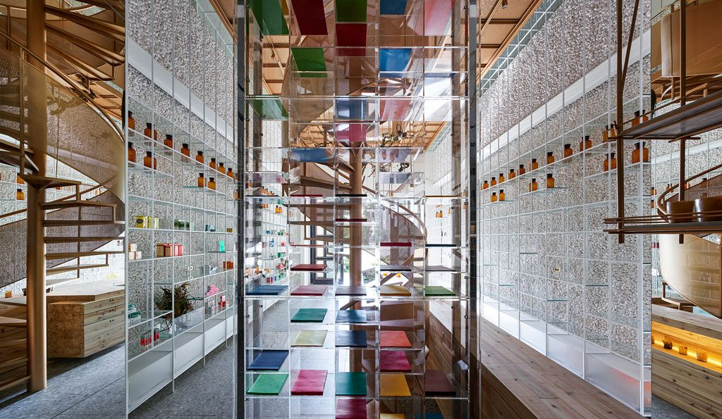 Waterfrom Design's 'Molecure Pharmacy' in Taichung Taiwan.