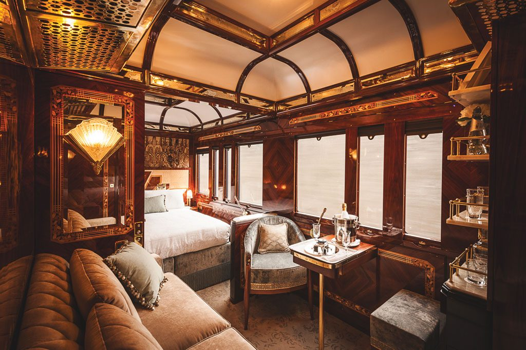 WATG and Wimberly Interiors (Turkey) have been shortlisted for Belmond's Venice Simplon-Orient-Express.