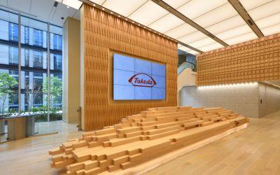 Takeda Global Headquarters opens in Nihonbashi, Tokyo