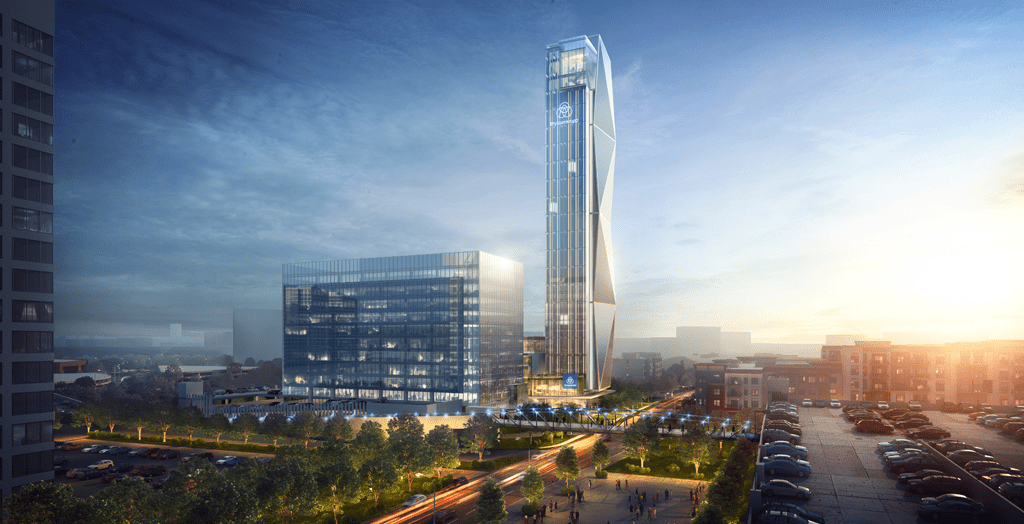 The thyssenkrupp Elevator Americas complex, near The Battery Atlanta in Cobb County, Georgia, will house more than 900 full-time employees, which represents approximately 6 percent of thyssenkrupp Elevator Americas total workforce across North America. Credit: thyssenkrupp Elevator