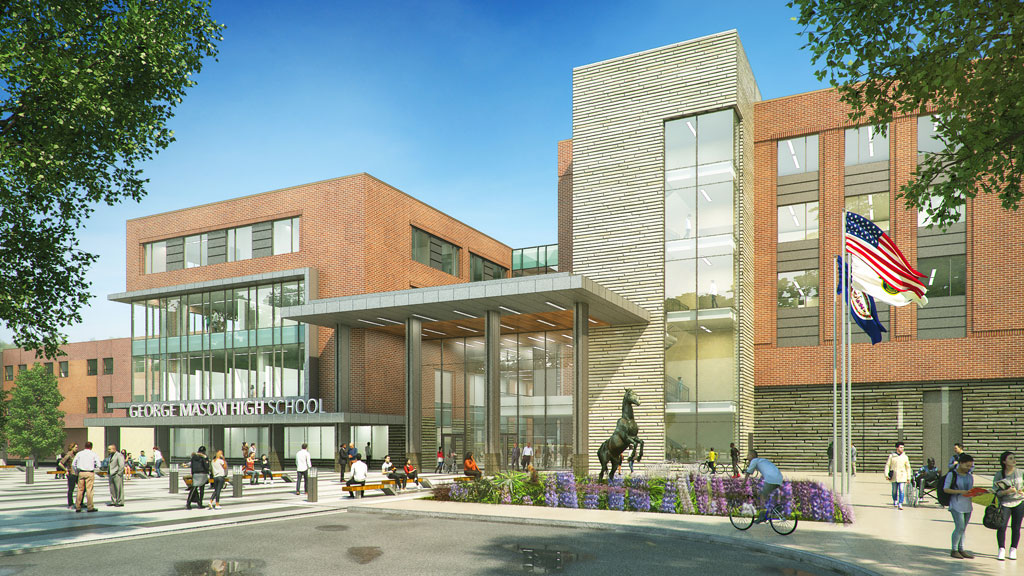 Design-Build team selected for new $108M George Mason High School in Falls Church