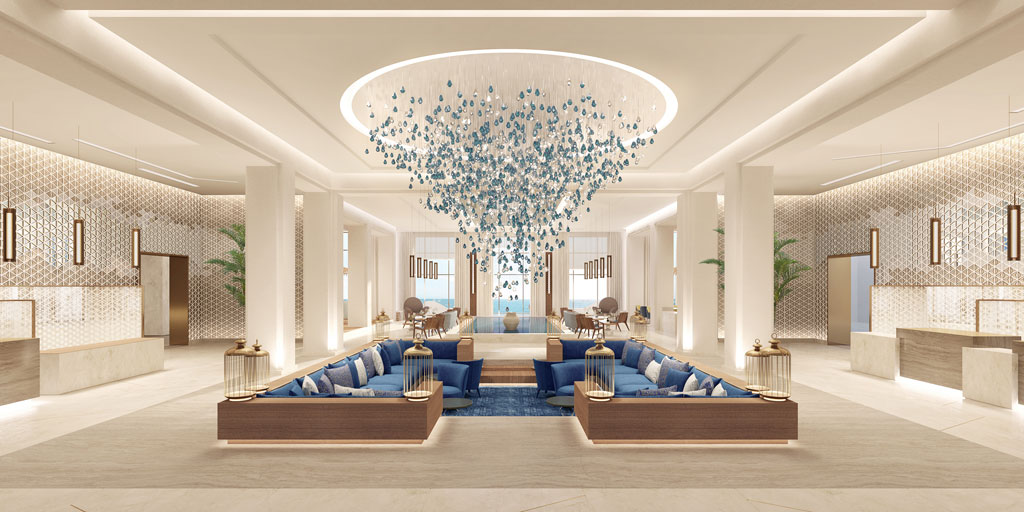 Jumeirah Al Sahel Resort & Spa in Bahrain. Courtesy of GM Architects
