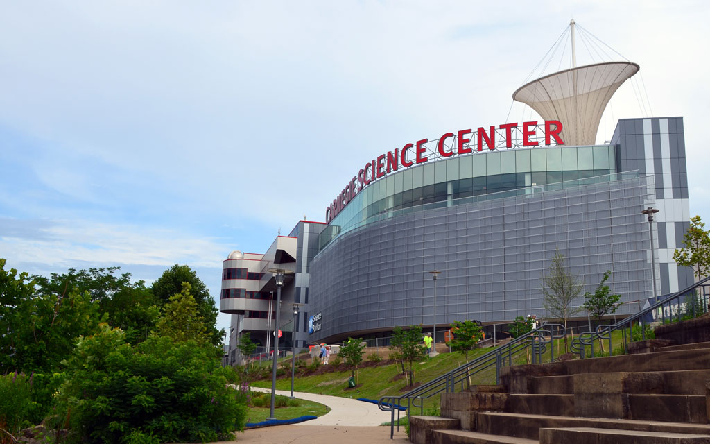 CARNEGIE SCIENCE CENTER'S NEW PPG SCIENCE PAVILION™ AWARDED LEED GOLD CERTIFICATION