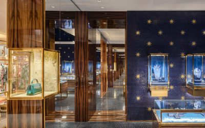 Historical and contemporary design harmonize in luxury CARBONDALE-designed Dolce&Gabbana Venetian store