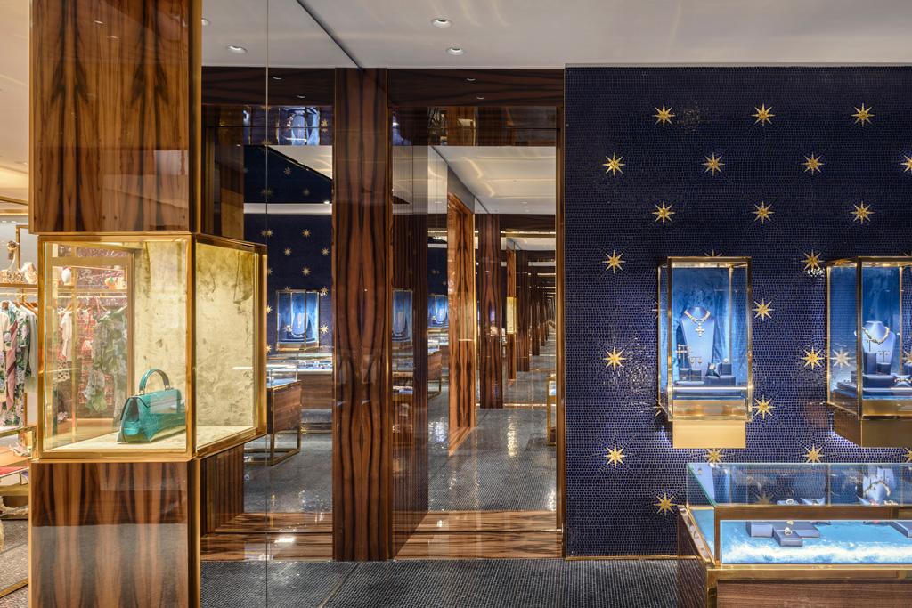 The Venetian Palace: CARBONDALE-designed Dolce&Gabbana store. Photo credit: Antoine Huot