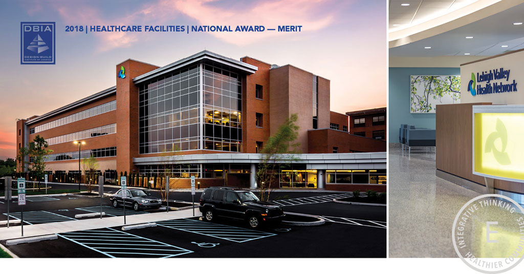 ERDMAN receives DBIA National Award of Merit in the Healthcare Facilities Category