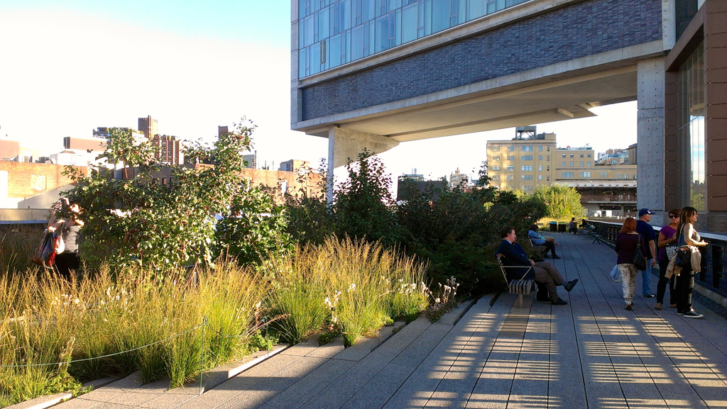 Highline Park, New York. Credit: Kārlis Dambrāns /Flickr
