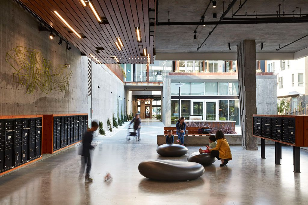 AIA/HUD Secretary's Award Category One: Excellence in Affordable Housing Design Award recipient. Five88, San Francisco | David Baker Architects. Credit: © Mariko Reed