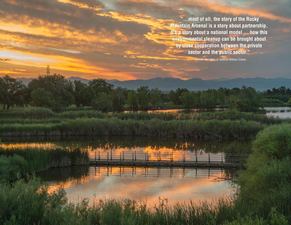 ASLA 2018 Landmark Award. From Weapons to Wildlife: The Rocky Mountain Arsenal National Wildlife Refuge Comprehensive Management Plan by Design Workshop Inc. (Denver, Colorado). Photo Credit: D.A. Horchner / Design Workshop, Inc.