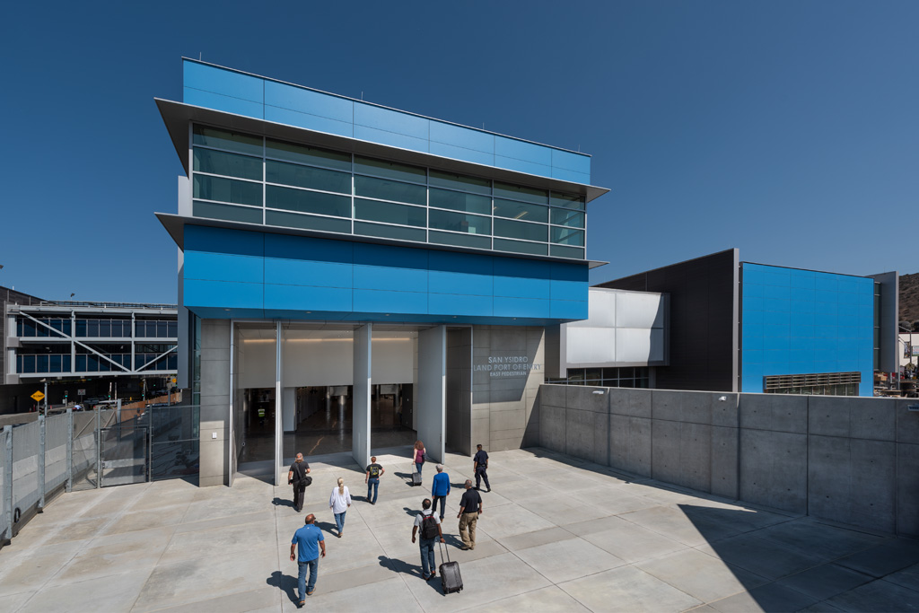 San Ysidro Land Port of Entry Pedestrian Processing Facility