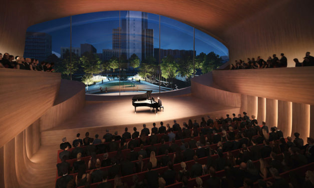 Zaha Hadid Architects wins competition to build Sverdlovsk Philharmonic Concert Hall