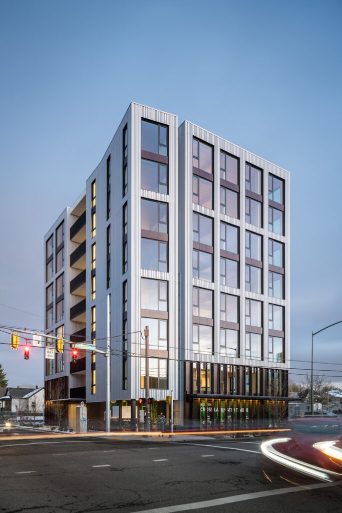Carbon12, Portland, Oregon. Photo courtesy of Structurlam