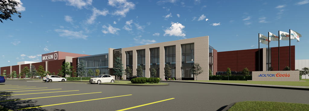 Construction Begins on Molson Coors Most Modern Facility in Canada
