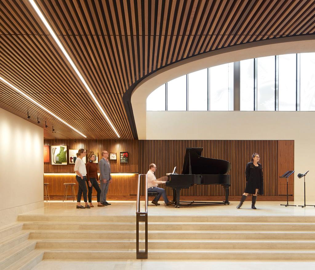 Linbury foyer. Photo: ©Hufton&Crow.