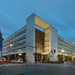 Eskew+Dumez+Ripple-desgined The Park, a hybrid structure merging parking with retail