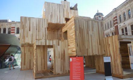 Northwest Hardwoods Provided American Tulipwood for Unique Installation at Last Week's 2018 London Design Festival