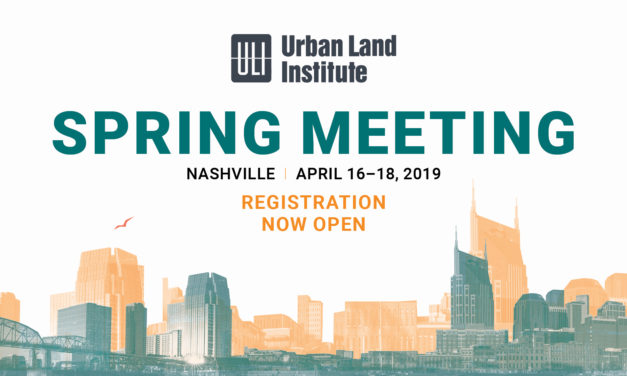 ULI Spring Meeting 2019