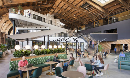 Historic Spruce Goose Hangar comes back to life with new ZGF-designed Google office