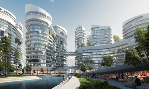 Zaha Hadid Architects selected to build Rublyovo-Arkhangelskoye smart city west of Moscow