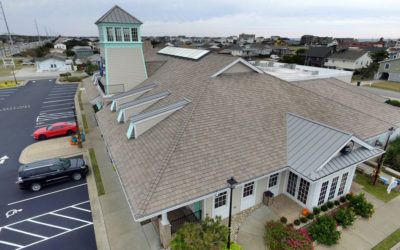 Hurricanes no match for DaVinci composite roof on seaside restaurant