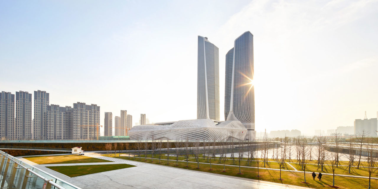 Nanjing International Youth Cultural Centre serves as both legacy and catalyst in Nanjing's Hexi New Town