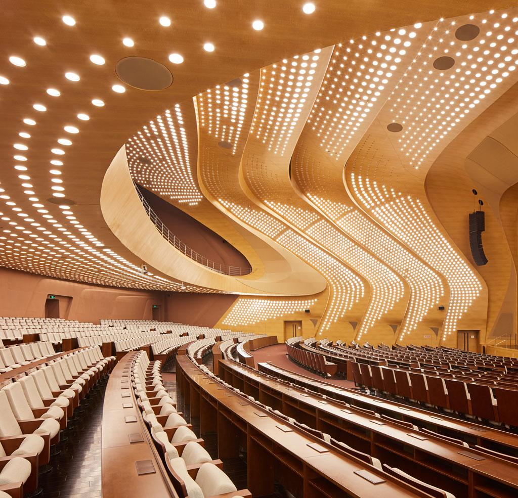 Nanjing International Youth Cultural Centre. Credit: ©Hufton+Crow, courtesy of Zaha Hadid Architects