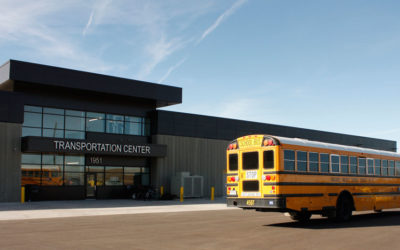 Boulder Valley School District opens new sustainable Transportation Center designed to LEED