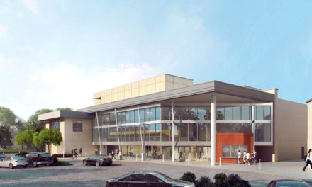 SVA Architects' design for Woodbridge High School Performing Arts Center soon to take shape