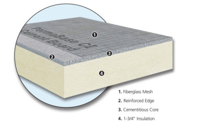 New PermaBase CI Insulated Cement Board™ introduced at the International Surface Event