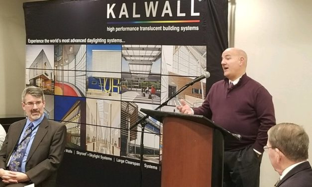 Steve Del Guercio named Kalwall® Salesman of the Year