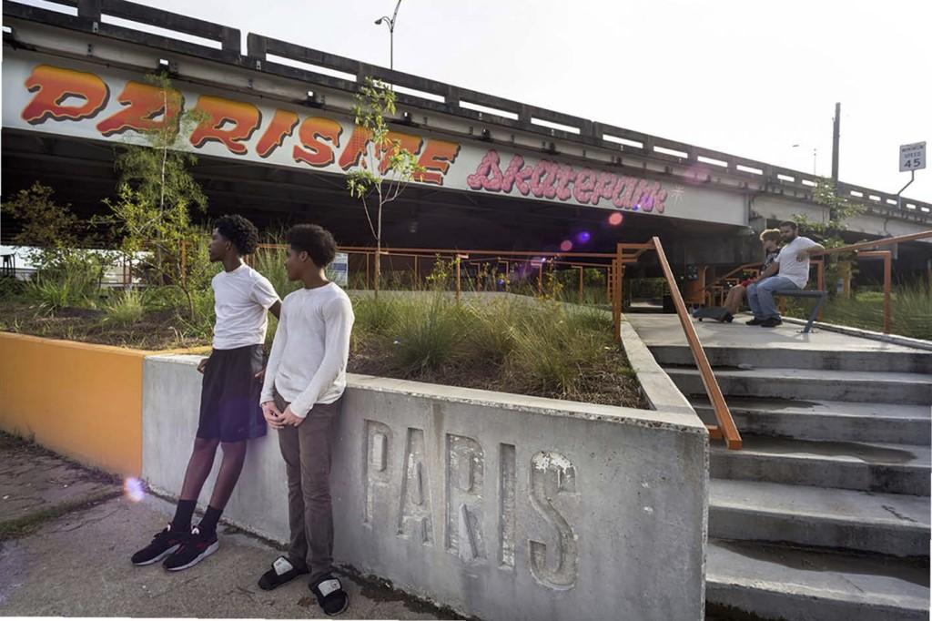 Parisite Skatepark—New Orleans, LA. Credit: Michael Wong