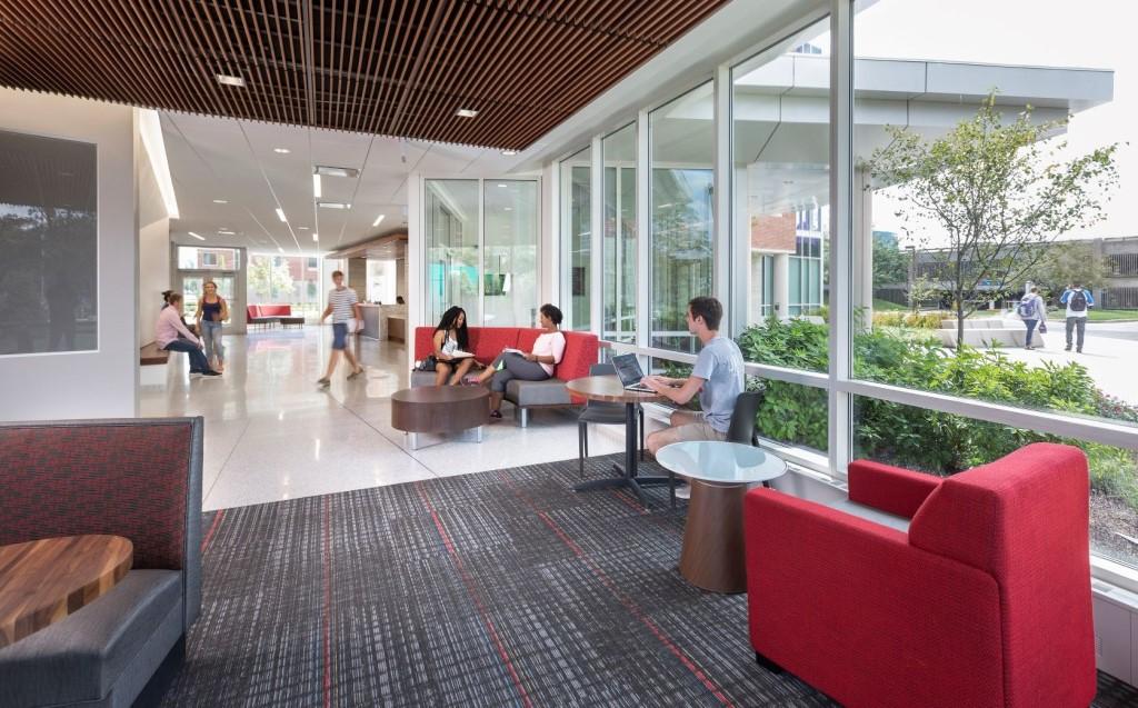 North Hall at IUPUI. Photo credit: Susan Fleck