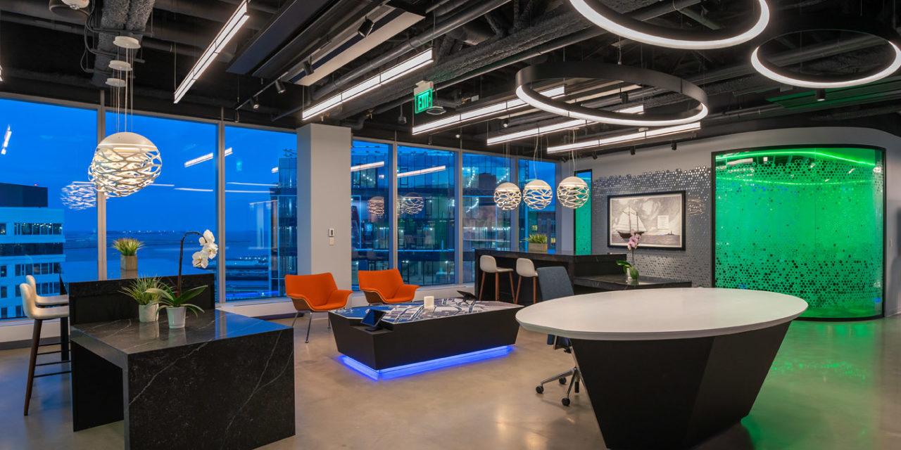 Margulies Perruzzi Architects' technology-led design for PTC's headquarters maximizes views and employee collaboration