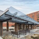 EXTECH introduces SKYSHADE 2500 glass canopy system