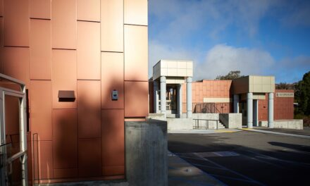 Lorin Anodized Copper Collection ideal for exterior and interior architectural applications