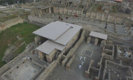 Pompeii Archeological Park: Corian® Exteriors preserves ancient buildings at the Championnet Complex