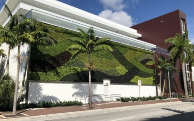 GSky Living Green Walls installs Pro Wall® system for iPic Entertainment in Delray Beach