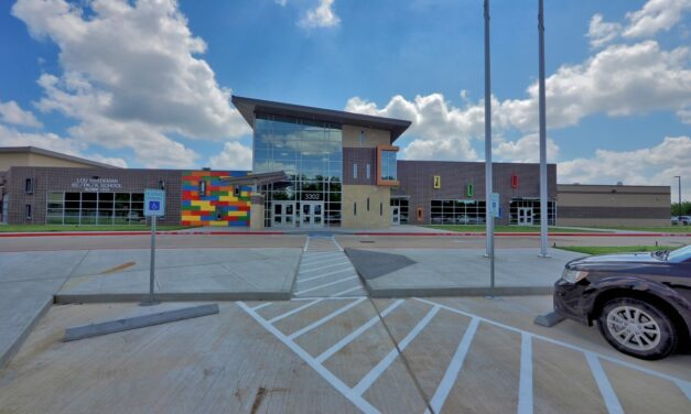 Zolatone® delivers new colors and textures for Texas elementary school