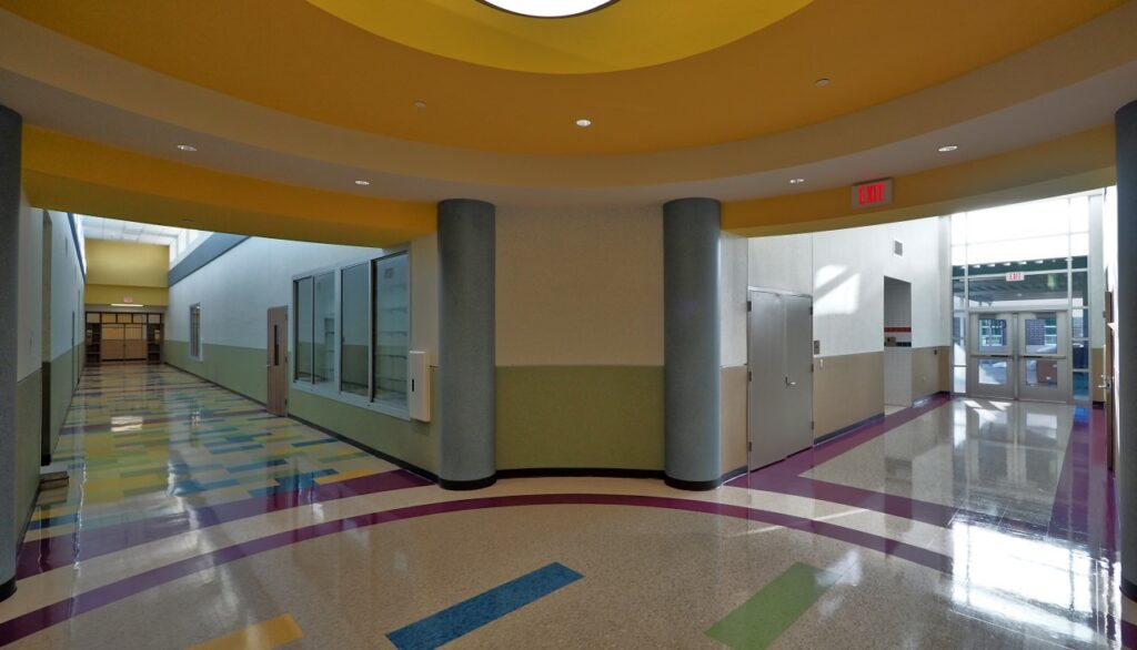 Lou Vardeman (EC/PK/K School), Aldine Independent School District in Texas. Photo Credit: Jeffery Tennyson, courtesy of ICP Building Solutions Group