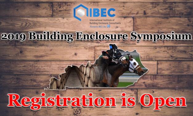 2019 IIBEC Building Enclosure Symposium