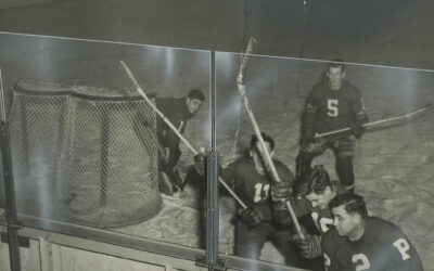 HERCULITE tempered glass, a pioneer in keeping the action on the ice