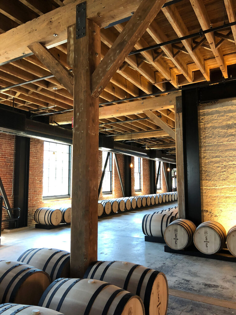 Savage and Cooke Distillery – Mare Island Building 45/RIM Architects. Photo credit: ZFA Structural Engineers