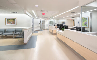Blair + Mui Dowd Architects set the standard at Vanderbilt University Medical Center