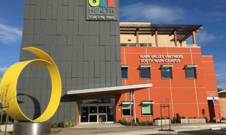 OLE Health's newest location clad with Linetec-finished aluminum wall panels