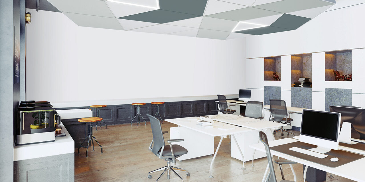 DESIGNFlex™ ceilings now available for Formations™ Acoustical Clouds