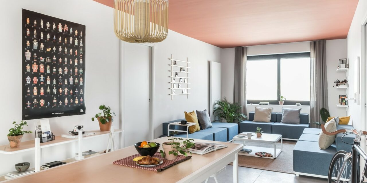 Cutwork designs first large-scale coliving space in Paris