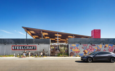 Studio One Eleven completes shipping-container food hall