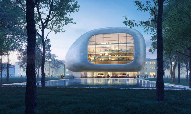 String instrument design by Steven Holl Architects + Architecture Acts takes first chair in competition for Ostrava Concert Hall