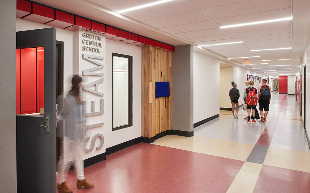 Small town invigorated by new STEAM learning center